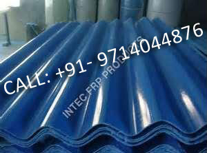 FRP Corrugated Sheets Natural / Translucent colour / Opaqe